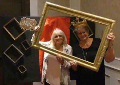 Susan and Janet framed